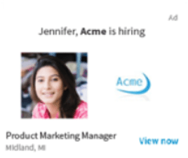 Job Ads allows your company to encourage relevant candidates to apply with your company