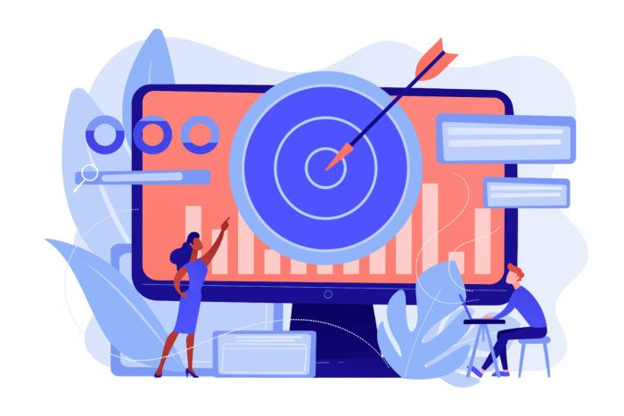Remarketing strategy concept vector illustration.