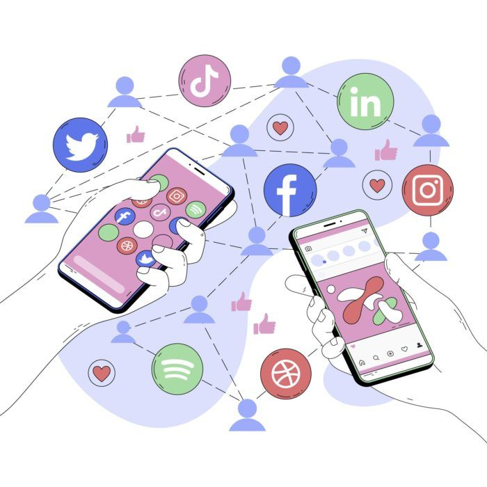Include your social networks in