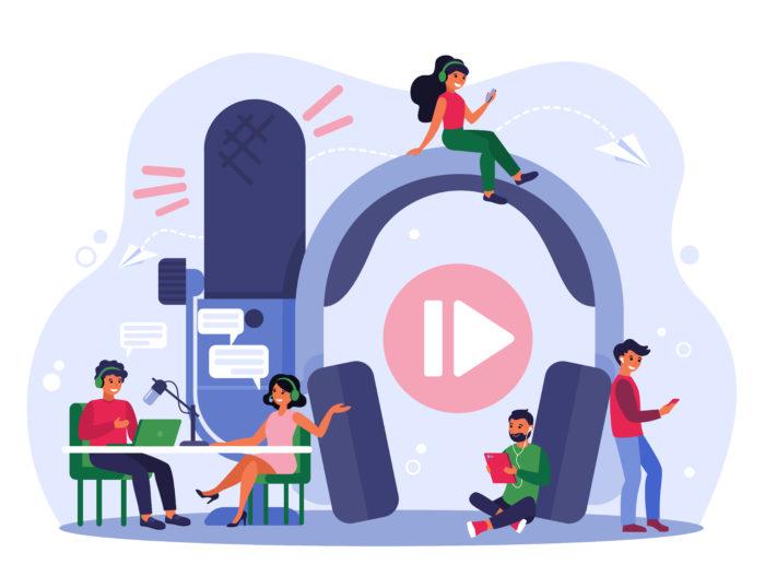 podcast para generación de leads B2B