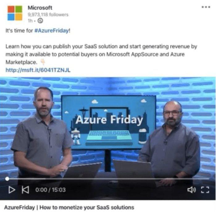 video linkedin ads